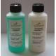Vaskemiddel og transparent balsam til læder